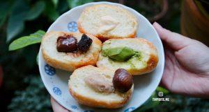 [台中甜點] 陸丘甜室 | 台中東區甜點 每日限量手作 濃郁系爆漿甜甜圈 排隊美食還有布朗尼