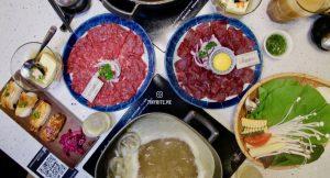 [台中美食] 肉魂鑄鐵料理 | 台中火鍋 手切冷藏肉質新鮮 套餐1主食8副 食份量多選擇超豐富 滿足無肉不歡的你