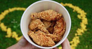 [台中美食] ROSS美式炸雞 台中轉運站內好味道 獨家醃料香辣夠味 全家桶329超划算 也別放過蘿蔔糕、雞排跟去骨雞球