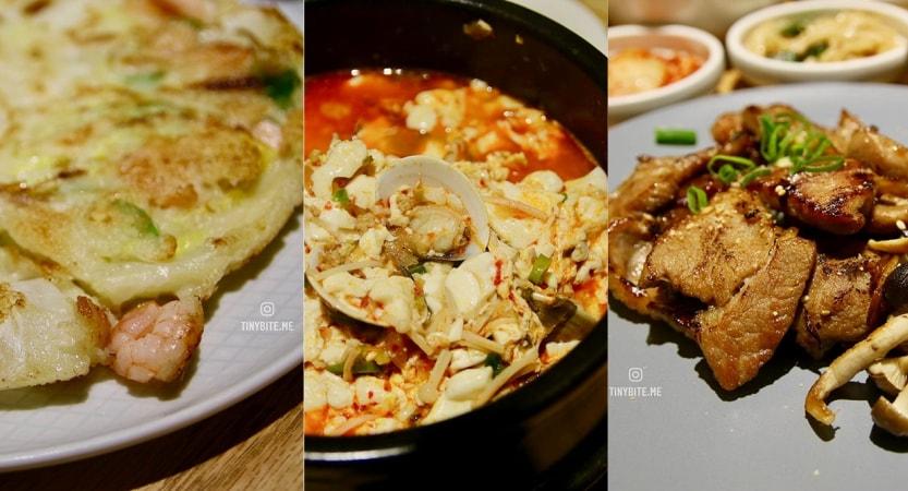 [台中韓式] 韓國餐桌밥상 | 韓國主廚帶來家常韓式料理 不加化學調味料好吃無負擔 套餐含3樣清爽小菜才200初