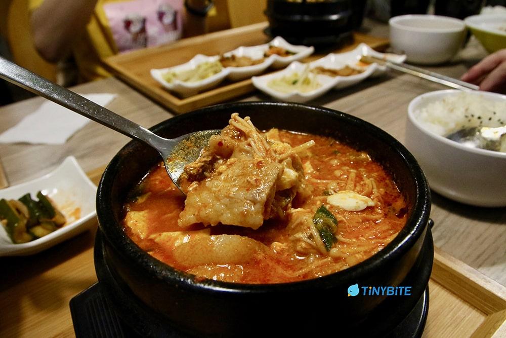 崔基虎 台中韓式 韓國料理 韓式料理 豆腐鍋 순두부찌개 台中美食 北屯美食