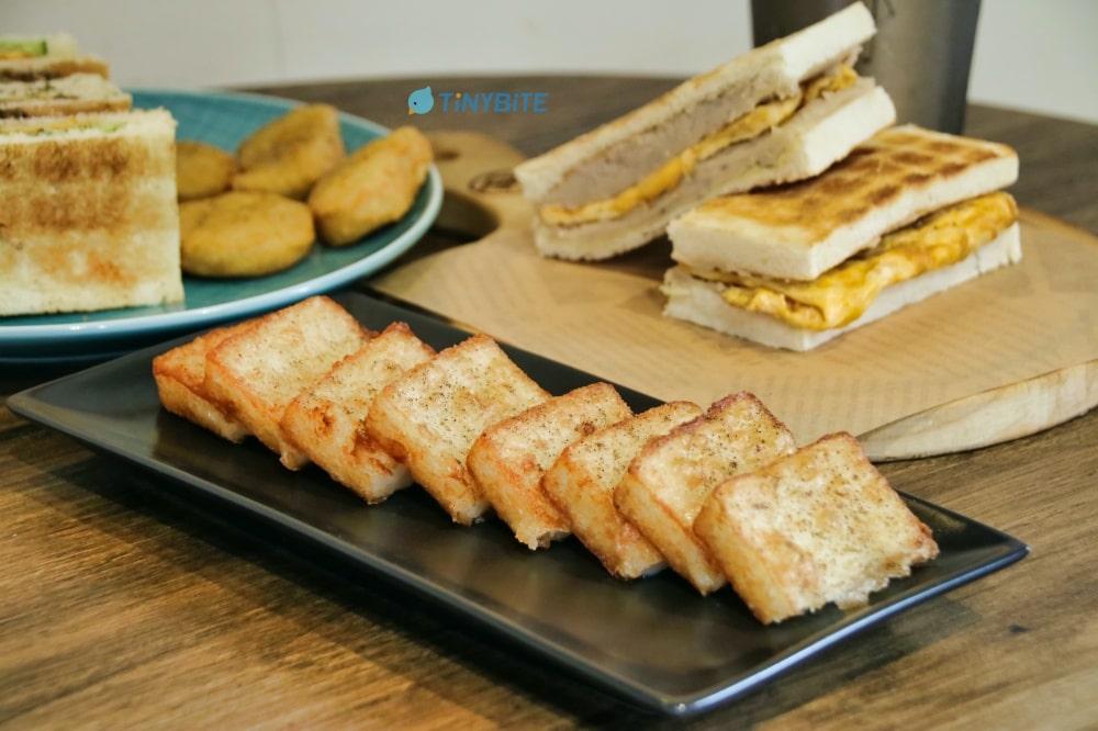 台中早午餐推薦 土木公社 土司 吐司 brunch toast 昌平路美食